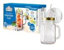 Ahmad tea Cold brew sada na prípravu ľadového čaju 2x40 g + pohár