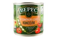 Квасоля Верес в томатному соусі 400г