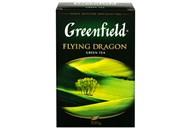 Чай Greenfield Flying Dragon зелений китай байх листов 100г