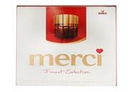 Цукерки Merci набір 8 видів шоколадні 250г