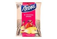 Чіпси Люкс Краб картопляні 133г