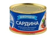 Сардина Аквамарин атлантична в томатному соусі 230г