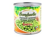 Горошок Bonduelle зелений екстра-ніжний консервований 400г