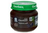 Пюре Gerber Чорнослив фруктове для дітей з 6 місяців 80г