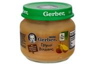 Пюре Gerber Груші Вільямс фруктове для дітей з 6 місяців 80г