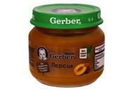 Пюре Gerber Персик фруктове для дітей з 6 місяців 80г