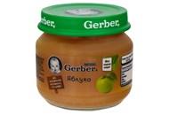 Пюре Gerber фруктове яблуко для дітей з 6 місяців 80г