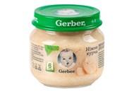 Пюре Gerber ніжне курча для діей т з 6 місяців 80г