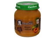 Пюре Gerber яблуко і персик для дітей з 6 місяців 130г