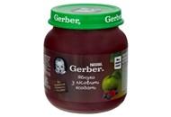 Пюре Gerber яблуко з лісовими ягодами для дітей з 6 міс 130г