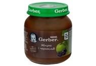 Пюре Gerber яблуко і чорнослив для дітей з 6 місяців 130г