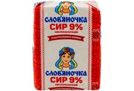 Сир кисломолочний Слов`яночка 9% 202г