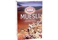 Сніданки сухі Axa Мюслі хрусткі з шоколадом і горіхами 375г