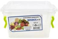 Контейнер харчовий Ал-Пластік MINIBOX №01 0,4л 1шт