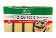 Губки кухонні Domi Fibra Forte 5шт