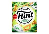 Сухарики Flint Пшенично-житні смак сметани із зеленню 70г