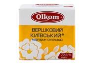 Маргарин Olkom Вершковий Київський столовий 72,5% 200г