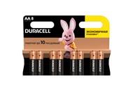 Елемент живлення Duracell лужний АА 1,5V 8шт