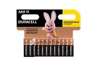 Батарейки Duracell ААА LR03/MN2400 12шт/уп