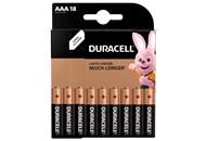 Батарейка DURACELL Basic AAA LR03 18 шт.