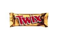 Печиво Twix пісочне з карамеллю у молоч шоколаді 50г