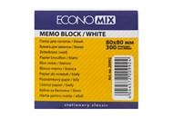 Папір днот 80х80мм білий EconoMix 300ар