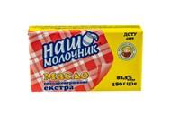 Масло Наш Молочник Екстра солодковершкове 82.5% 200г