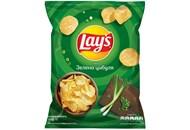 Чіпси Lay`s картопляні зі смаком зеленої цибулі 71г