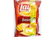 Чіпси Lay`s картопляні зі смаком бекону 133г