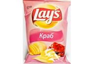 Чіпси Lay`s картопляні зі смаком краба 133г