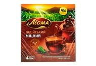 Чай Лісма індійський міцний чорний дрібний 1,8г*100шт 180г