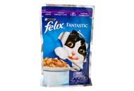 Корм для котів Purina Felix Fantastic з ягням у желе 100г