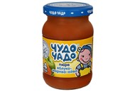 Пюре Чудо-Чадо яблуко-морква-айва для дітей з 4 місяців 170г