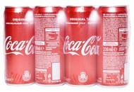 Напій Coca-Cola безалкогольний сильногазований 330мл