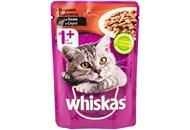 Корм для котів Whiskas з індичкою в соусі 100г