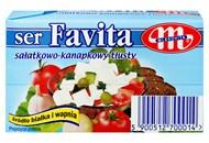 Сир Mlekovita Favita м`який солоний 45% 270г
