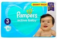 Пiдгузки Pampers Active Baby 3 розмір 6-10кг 90шт