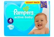 Пiдгузки Pampers Active Baby 4 розмір 9-14кг 76шт