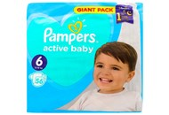 Пiдгузки Pampers Active Baby Extra Large 13-18кг 56шт