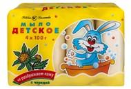 Мило Невская косметика Дитяче з чередою 4х100г