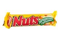 Цукерка Nestle Nuts з цілими лісовими горіхами 42г