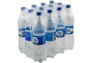 Вода Bonaqua природна питна сильногазована 1л