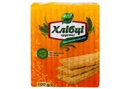 Хлібці Galleti Хлібці Луганці пшенично-вівсяні хрусткі 100г