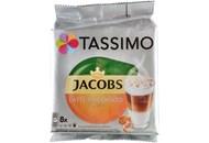 Набір Tassimo Jacobs Latte Caramel кава 8шт+концент 8шт 268г