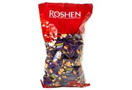 Цукерки Roshen Candy nut нуга арахіс та рисові кульки 1кг