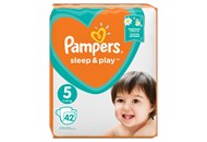 Підгузки Pampers Sleep&Play Junior 5 розмір 11-18кг42шт