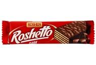 Батончик Roshen Roshetto Dark в шоколадній глазурі 32г