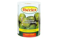 Оливки Iberica з кісточкою 420г