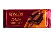 Шоколад Roshen Milk Bubble пористий 80г