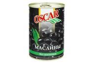 Маслини Oscar чорні без кісточки 432мл